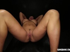 GANGBANG CREAMPIE I LOVE GETTING FILLED UP Thumb