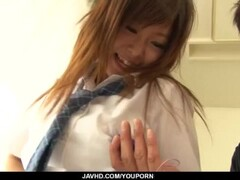 Amazing porn play with young doll Miku Airi Thumb