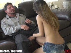 MILF Makes Sure Cock is Safe for Daughter Thumb