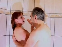 Couple under shower Thumb