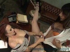 Russian milf reads fairy tale while riding Thumb