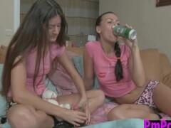 Hanna & Vera drink and go lesbian Thumb