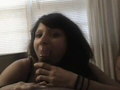 Awesome blowjob with cum in mouth swallow Thumb