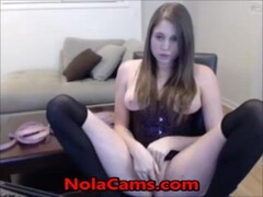 Pussy Webcam Orgasm With A Vibrator Thumb
