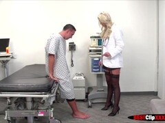Hot Nurse Brooke Brand starts sucking it for incentive to patient Thumb