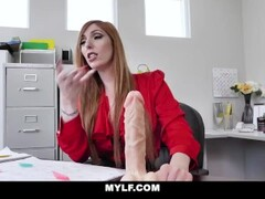 MYLF - Hot Ginger Boss Gets Fucked By BWC Employee Thumb