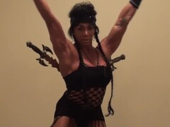 Marital Arts Female Bodybuilder Could Slice and Dice You, Kick Your Ass! Thumb