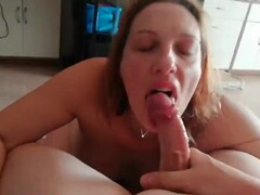 A day with my dirty slut - third blowjob (extreme gagging, huge cumshot) Thumb