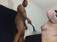 BBW whipped by her BBC Thumb