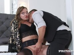 Private.com - Hot Student Ann Rice Butt Fucked, Pussy Pounded & Cummed On! Thumb