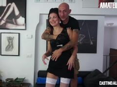 AmateurEuro - Rough Anal SEX at Porn Casting For Kinky Italian Mom Thumb