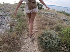 NUDIST TEEN GET FILLED WITH CUM IN PUBLIC BEACH REAL CREAMPIE Thumb