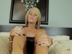 Nikki Ashton - Perfect Feet - MILF Footjob POV Thumb