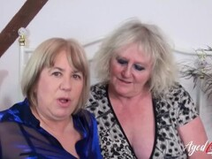 AgedLovE Group Orgy of Two Mature Couples Together Thumb