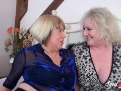 AgedLovE Group Orgy of Two Mature Couple Thumb