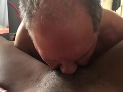 White slave eating my pussy Thumb