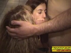 2 hot lesbian milfs outdoor with firemen - amateur compilation Thumb