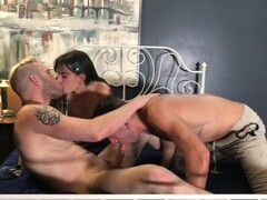 Holly Beth's FIRST Bisexual MMF Threesome with Dante Colle Thumb