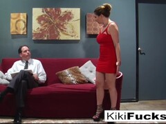 Kiki Daire fucks a hippie in front of her boring husband Thumb