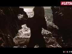 LETSDOEIT - Sloppy Passionate Blowjob At The Beach Thumb