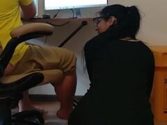 Horny Secretary banged by her boss Thumb