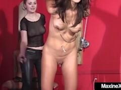 asian maxine x & mexican ho tied & fucked by hot mistress chanta Thumb