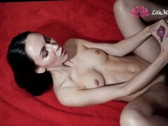 Doggy Sex and Sensitive Jerk Off for Lilu Moon Thumb