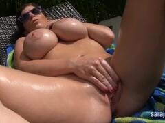 wet sun-shined pussy Thumb