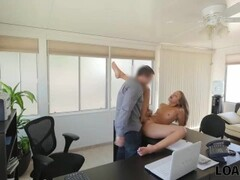 loan4k. loan manager perform raunchy casting for sexy girl in Thumb