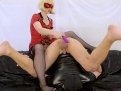 My cum slave compilation - strapon pegging milking cum kiss cum lubricant Thumb
