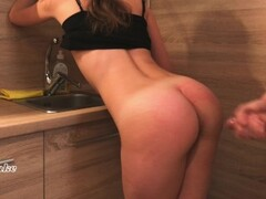Fast fucked in the kitchen by roommate — Porn Cake Thumb