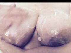 Big boob blonde whip cream play Thumb