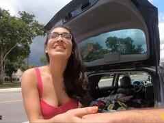 Roadside - Spiritual Teen Fucks To Get Her Car Fixed Thumb