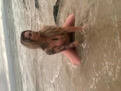 PUBLIC FLASHING for Beach Photoshoot BTS Thumb