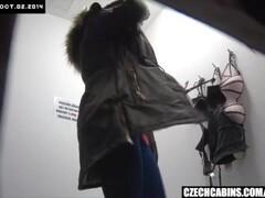 Teen Busty Girl Caught by Hidden Cameras Thumb