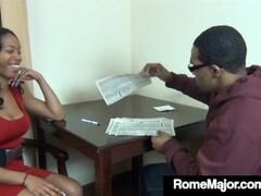 Big Black Mommy Fucker Rome Major Bangs His Student's Mother! Thumb