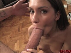 Young babe Mika ass fucked by monster white cock and facial Thumb