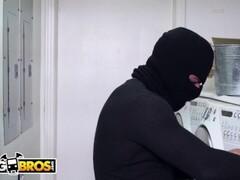 BANGBROS - Masked Panty Thief Bangs Sara Jay's Big Ass In Risky Situation Thumb