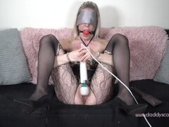 Submissive blondes edging and orgasm denial with punishment Thumb