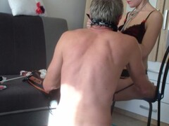 Lady Dom dom doctor and her patient in panties Thumb