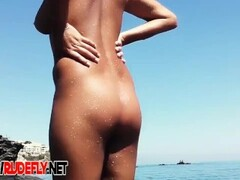 sexy nudist girls shaved off boobs willing to get them suntan Thumb