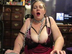 Slutty milf controlled on the Sybian Thumb