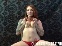 Cum Eating Fetish And POV Femdom Videos Thumb