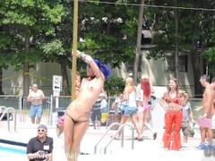 wild stripper contest in the forest Thumb