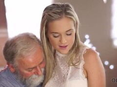 old4k. old man is happy to enjoy tender perfect body of young shanie ryan Thumb