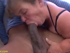 hairy bbw midget granny interracial fucked Thumb