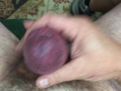 THICK PUMPED COCK JERKING WITH LOTS OF PRE CUM.MOV Thumb