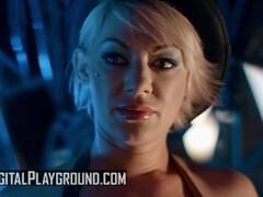 Digital Playground - Big tit Madison Ivy and goth Katrina Jade Sissor in po Thumb