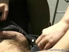 MILF Is Handjob Expert for Penis Thumb