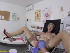 hairy 71 years old mom rough pov fucked by her doctor Thumb